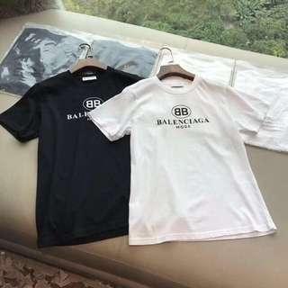 balenciaga T恤 黑白