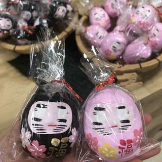 日本購入 日本福神🙏🏾櫻花🌸達摩♥️限定版一對