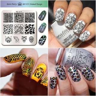 15ml Cool Silver Color Born Pretty Nail Art Stamping Stamp Polish Nail Polish Stamp Polish Tool Nail DIY Polish#2