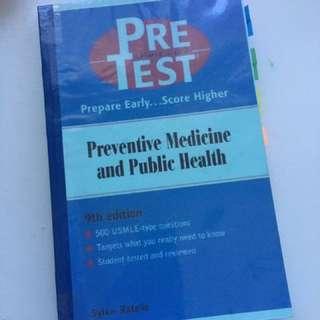 pretest preventive medicine and public health