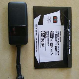 GPS Tracker card