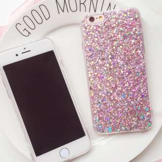 Pink Glitter Iphone case