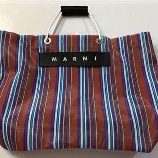 Marni Market 尼龍手挽袋