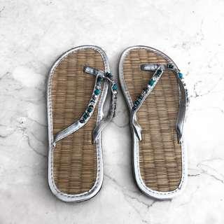Bamboo flip flops sandals