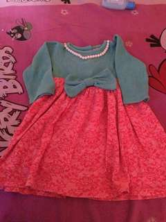 Dress baju bayi