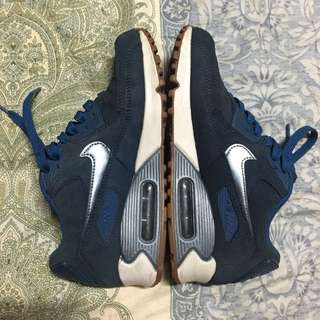 [Repriced] Air Max 90 PRM Suede Midnight Navy Metallic Blue Dust