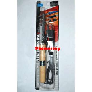 (BN) 60w Soldering Iron with Wooden Handle (Brand New)