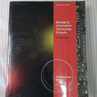 Managing Information Technology Projects: International Edition