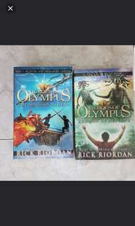 BN PERCY JACKSON AND THE MARK OF ATHENA / SON OF NEPTUNE PAPERBACKS