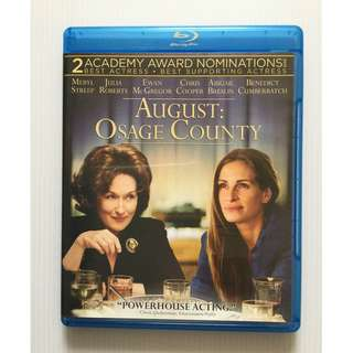 August: Osage County Blu Ray