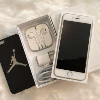 Iphone 6 128 gig silver openline