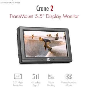 "Zhiyun TransMount 5.5"" Display Monitor"