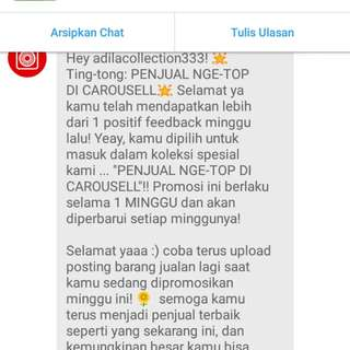 Love You Carousell😘😘😘