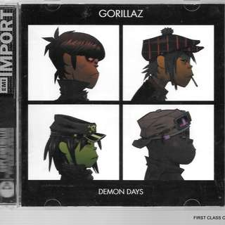 MY PRELOVED CD -GORILLAZ - DEMON DAYS  /FREE DELIVERY (F7C)