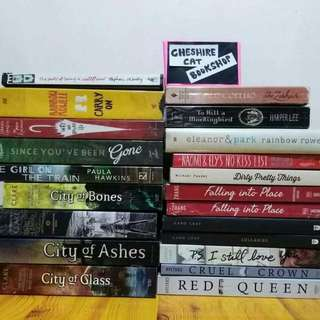 New and preloved YA books