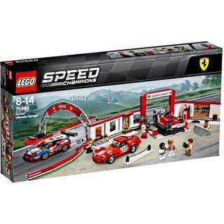 75889 Lego Speed Champions: Ferrari Ultimate garage