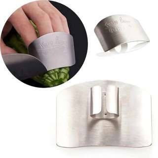 Left 1 only. Stainless Steel Finger Hand Protector Guard (Free Postage) Kitchen
