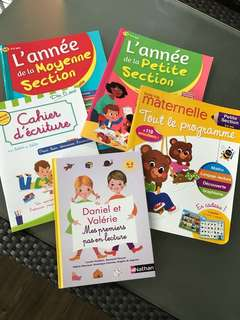 French Books Bundle / Livres Français