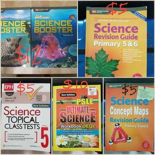 PSLE revision books