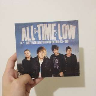 All Time Low – Dirty Work Limited CD + DVD