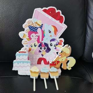 little pony cake topper