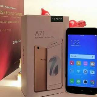 New Oppo A71 Cash dan Credit