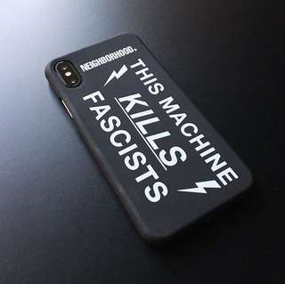 NBHD FASCISTS IPHONE X CASE