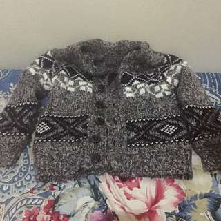 zara knit sweater jacket coat jaket cardigan boy girl