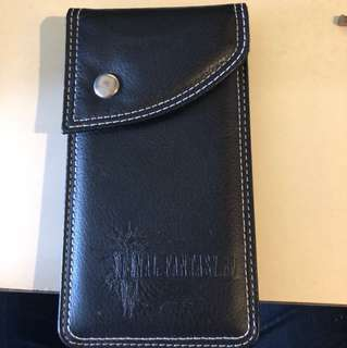 Final Fantasy 15 leather pouch