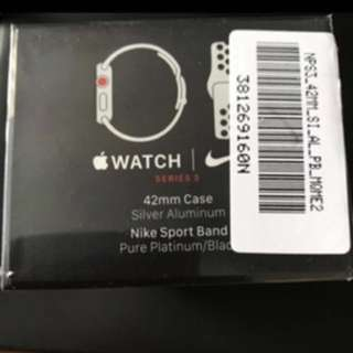 Apple watch Series 3 42mm Cellular Nike
