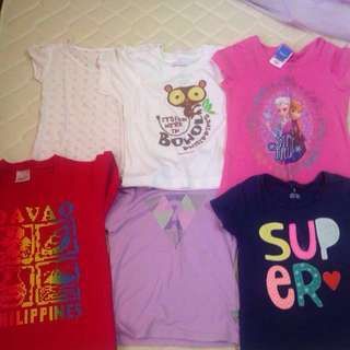 Assorted t-shirts