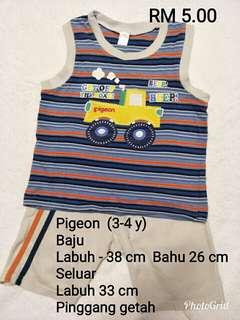 Pigeon Shirt Set