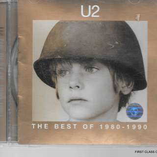 MY PRELOVED CD -  U2 - THE  BEST /OF 1980-1990 FREE DELIVERY (F7C)