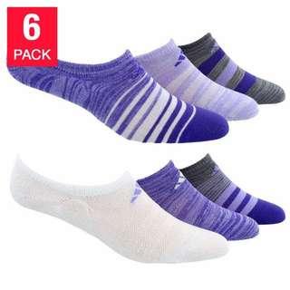 代購 Adidas女裝船襪 (一套六件