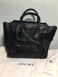 Celine mini luagge 黑金