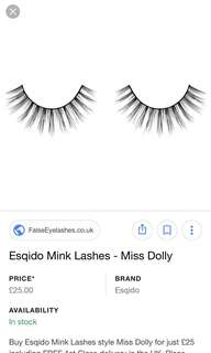 Miss Dolly Natural Fur Eyelash Extensions
