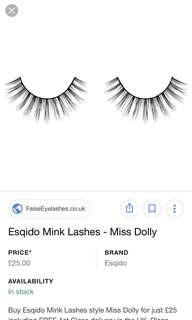 Miss Dolly Natural Fur Eyelash Extensions