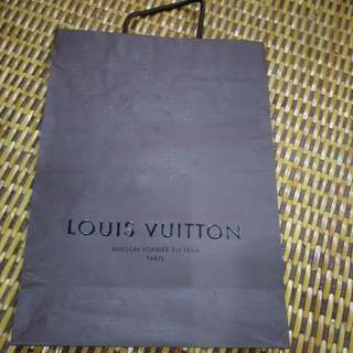 Louis Vuitton authentic paperbag #Bajet20