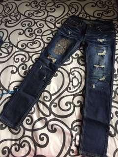 Jeans korea pjg sz M besar