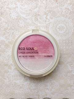 The seam - eco soul cheek gradation