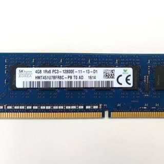 Hynix 4GB DDR3 12800E ECC RAM (Made in Korea)