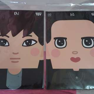 EXO 5th Anniversary Paper Toy