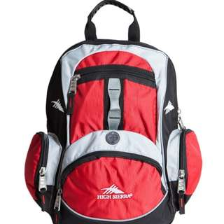 High Sierra Mini Backpack Red/Black by Samsonite