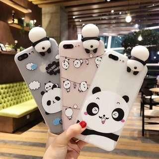 Panda Iphone 6, 6s, 6plus, 7, 7plus case / casing