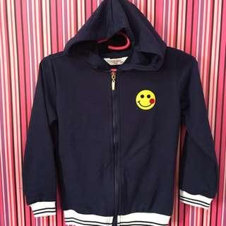 🦄 Branded Hoodie/Jacket For Girls (Navyblue)