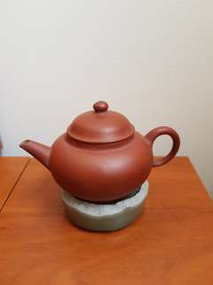 Old Chinese Red clay teapot