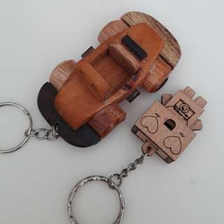 New Wooden Keychain