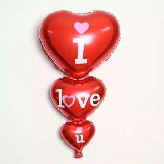 Big 'I Love You' Balloon