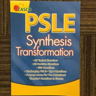 PSLE Synthesis Transformation. PSLE English.