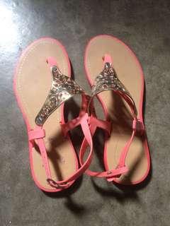 Sandal jelly peach - pink